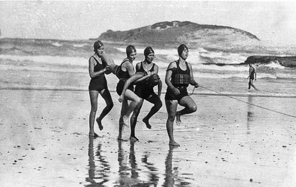 Women's team, Coffs Harbour Jetty Surf Life Saving Club