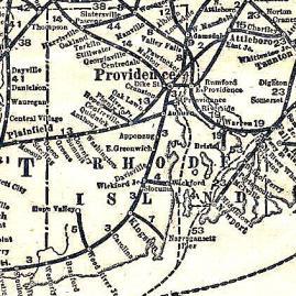 Railroad Map, RI